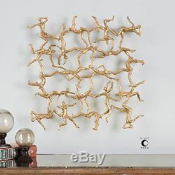 Designer D'or 19 Gymnastes Modern Home Decor Wall Art Uttermost