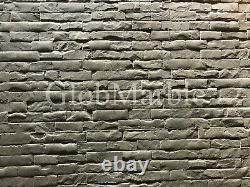 Ensemble De 4 Pc Concrete Vertical Stamp Mats Wsm 10201. Murs Décoratifs En Béton