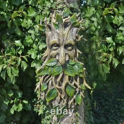 Extra Grand Arbre Ent Face Plaque Jardin Ornement Green Man Cadeau 65 CM