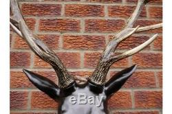 Extra Large Résine Stag Head Deer Head Murale Décorations
