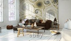 Fond D'écran Mural Photo Jaune Abstrait Géant Décor Papier Affiche Pour Chambre À Coucher