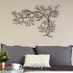 Grande Branche D'arbre En Métal Hanging Mur Intérieur Art Décoration D'intérieur
