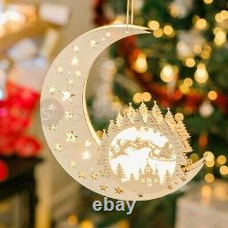 Grandes Lumières De Décoration Extérieures Animées De Noël De Noël 10 Led