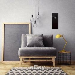 Horloge Contemporaine Noir Cuisine Horloge Minimaliste Décorations Couleur Accent Horloges