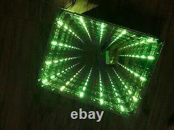 Infinity Mirror Couleur Élégante Changer Leds Avec Une Télécommande