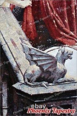 L'art Médiéval Godspeed Tapisserie Éponte, 100% Coton, 55x39, États-unis