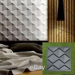 Lot De 10pcs Différents Panneaux Muraux Décoratifs 3d Abs Moule En Plastique Pour Plâtre