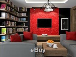 Luxe 3d Mur Plafond Panneau Flames 60 X 60 Carrelage Décoratif Revêtement Papier Peint