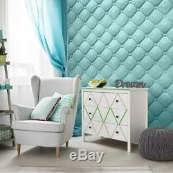 Luxe 3d Mur Plafond Panneau Oreillers 60 X 60 Carrelage Revêtement Décoratif Papier Peint