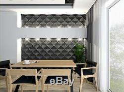 Luxe 3d Panneau Mural Plafond Harmonie 60 X 60 Carrelage Décoratif Revêtement Papier Peint