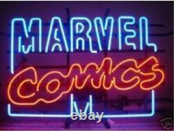Marvel Comics Neon Light Sign 20x16 Cave Beer Cadeau Décor Création Décorations
