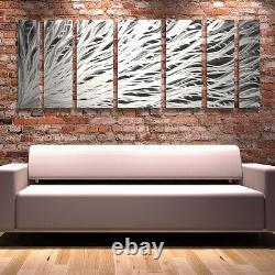 Modern Contemporary Abstract Metal Wall Art Painting Panels Décor Brian Jones