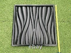 Moule Vague Panneau Mural Décoratif 3d Moule En Plastique Moule Plâtre Gypse Bricolage Carrelage