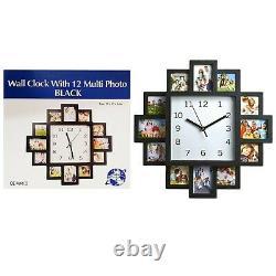 Multi Horloge Murale Caractéristique Diamante / Horloge Photo À La Maison
