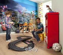 Mur Papier Peint Photo Murale Cars 2 Disney Pour Les Enfants Décoration Pépinière + Adhésif