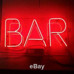New Bar Neon Light Sign Lampe Beer Pub Acrylique 14 Décorations Pour Les Murs À La Main