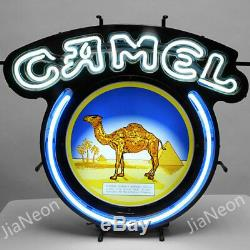 New Camel Du Vrai Tabac Néon Bière Lumière Acrylique Décorations Main Oeuvre D'art