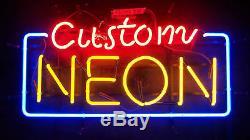 New Custom Neon Sign Décorations Création Lumière Lampe Party Affichage