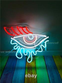 New Eye Tears Crying Wall Decor Lampe Lampe De Chambre À Coucher Acrylique Neon Signe 14'