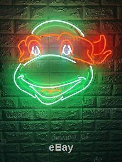 New Teenage Mutant Ninja Turtles Neon Sign Décorations Oeuvre D'art Lampe