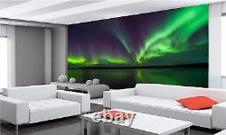 Northern Lights Mural Fond D'écran Photo Giant Decor Poster Papier Collé Gratuit