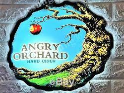 Nouveau Cidre De Angry Orchard Led 3d Neon Light Sign 17 Beer Bar Décorations