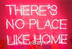 Nouveau IL Y A No Place Like Home Décorations Neon Light Sign 19x15