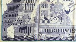 Nouveau + Tag + Box Hermes Hippopolis Soie Par Ugo Gattoni Licorne Cheval Wall Decor