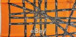 Nouveau + Tags + Box Hermes Bolduc Ruban Soie Par Dumas Grail Mur Décor Moderne