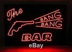 Nouveau The Bang Bang Bar Wall Decor Lampe Neon Light Sign 20x16