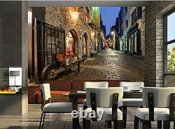 Old City Street Wall Mural Photo Wallpaper Giant Wall Decor Paper Poster