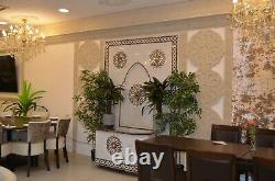 Pack De 4 Dado En Plâtre Marocain, Taille L93cm Chacun, Tuile Murale Décorative En Gypse