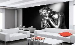 Papier Peint Mural De Bouddha Noir Et Blanc Giant Decor Papier Affiche