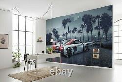 Papier Peint Mural Géant Audi R8 À L. A. Chlildren's Beedroom Decor Voiture De Sport