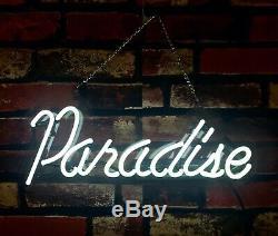 Paradise Boutique Boutique Beer Store Bar Room Pub Décorations Neon Sign Lumière