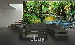 Rainforest River Mural Photo Fond D'écran Giant Decor Poster Papier Collé Gratuit