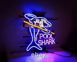 Shark Pool Jeu Custom Neon Sign Light Store Bar Bar Bar Wall Decor