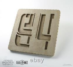 Star Wars Bay 94 Décor Docking Murale Plaque Regal Robot Nouveau Dans