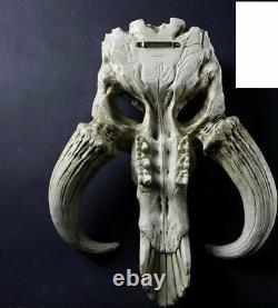 Star Wars The Mandalorian Skull Wall Decor Boba Fett 17 Statue Figure Statue