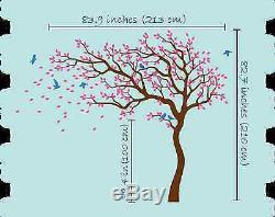 Sticker Mural Arbre Énorme Autocollant De Mur D'arbre Murale Décoration Murale Pépinière Kr047