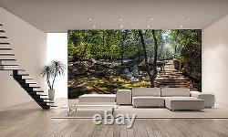 Tropical Rainforest Mural Paysage Photo Fond D'écran Giant Decor Affiche Art