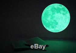 Wall Home Decor Moon Glow Dans L'obscurité Point Decal 3d Art Mural 4 Taille