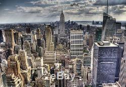 Wallpaper Murale Photo De New York Skyline Wall Decor Papier Giant Poster Paysage Urbain