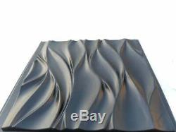 Wind Panneau Mural Décoratif 3d Abs Moule En Plastique Moule Plâtre Gypse Bricolage Carrelage